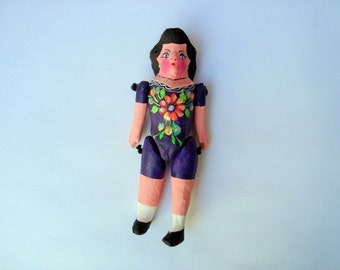 paper mache doll mexican doll