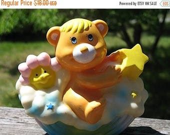 FABULOUS Soma 1984 Love Pets  Rainbow Bear Wunderzoo Savings Bank  So Friggin Cute Perfect for a Retro  Nursery