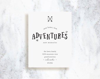 Moving Announcements // New Adventures // Choose Your Colors