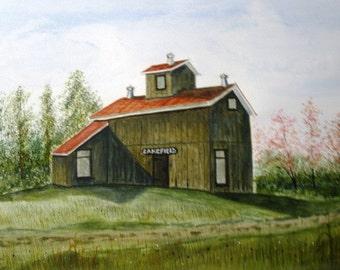 Indian River Barn - Original Painting