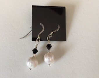 Freshwater Pearl and Sterling Silver