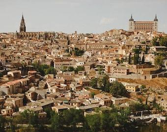 Spanish Art, Toledo Photos, Travel Photograph, Architecture Print, Beautiful Posters, Orange Decor, Travel Pictures, Travel, Photo