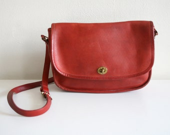 Red Coach Satchel
