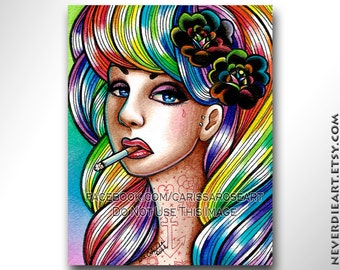 Hard Candy | Limited Edition | Art Print
