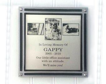 Memorials - Garden Markers - Tree Dedication - Recognition: Cast Aluminum Plaque with Custom Insert