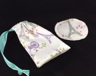 Menstrual Cup Coaster Menstrual Cup Bag Eiffel Tower