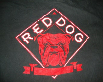 Vintage 90's Red Dog Beer party punk rock T Shirt Adult Size XL