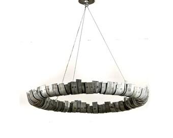 STUDIO - Circulum - Wine Barrel Ring LED Chandelier