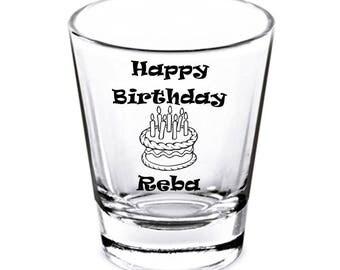Custom Birthday Shot Glasses, Birthday Shot Glasses, Birthday Shots, Personalized Shot Glasses, Custom Shots Glasses, Birthday Party Favors