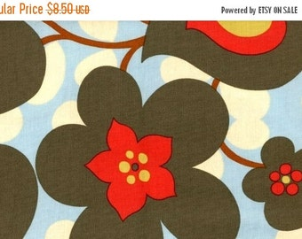 Christmas Sale Amy Butler Fabric - Morning Glory in Linen 1 Yard