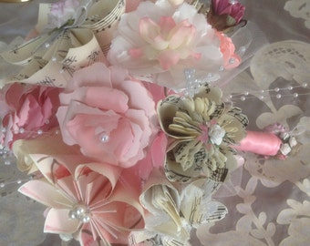 Origami Flower Childrens Room or Baby Nursery Bouquet