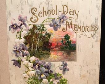 1913 School Day Memories Book