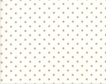 Poetry - Dots in Porcelain Stone by 3 Sisters for Moda Fabrics