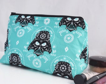 Makeup Bag with Wipeable Lining, Zookaboo