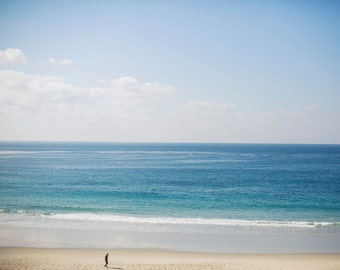 Solitude - Fine Art Photograph, Orange County, Ocean Photography, Wall Art