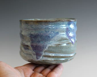 Matcha Chawan LARGE, Tea Bowl, handmade ceramic tea cup, handmade pottery, Pottery Tea Bowl