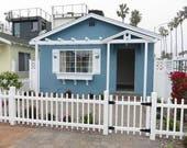 RESERVED For dogdazecaninehairdes Custom Window Box Exterior Beach Lake Country House by CastawaysHall