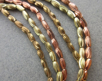 Metal Spacer Beads -3 Strands