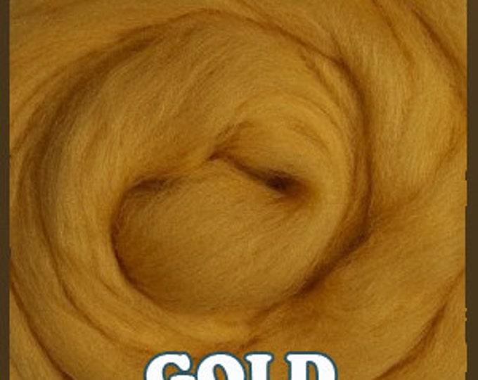 Ashland Bay Merino Roving - Shades of Yellow