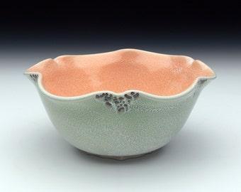 Green and Orange Bowl