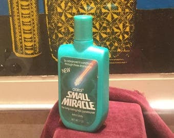 Full Bottle of Clairol SMALL MIRACLE Shampoo from 1980