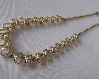 Vintage necklace, Coro necklace, choker necklace, 1950s necklace, signed necklace, designer necklace