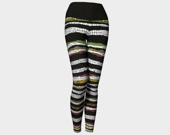 Zebra Yoga Pant
