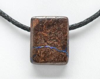 Koroit Boulder Opal Pendant - Side Drilled