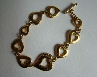 Yves Saint Laurent YSL heart bracelet