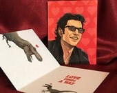 JURASSIC PARK Valentine's Day card Ian Malcolm