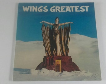 1978 - Wings - Greatest Hits - Paul McCartney - LP Vinyl Record Album - 70's / Pop / Rock