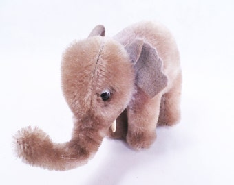 Steiff Elephant for Upcycle Vintage 60s
