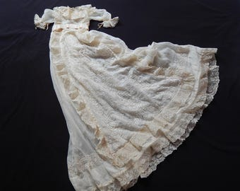 French Antique Christening Gown of Museum Quality