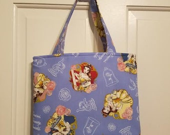 Junior Tote - Beauty and the Beast