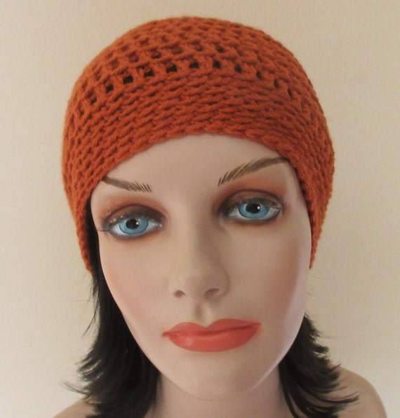 Burnt Orange Beanie, Crochet Beanie, Pumpkin Hat, Pumpkin Spice, Cold Winter Accessory, Orange Snow Hat, Hockey Mom, Snow Playing