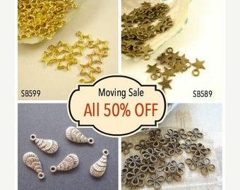 Moving 50off Sale - Collection Wholesale Buys Mix Charms Pendant Drop/Connector C-360