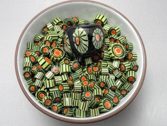 Basket Weaving Supplies Sacramento : Murrini chips coe melon lampwork supply milli