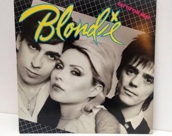 Blondie - Eat to the Beat 1979 vintage Vinyl Record LP 80s new wave pop rock Debbie Harry