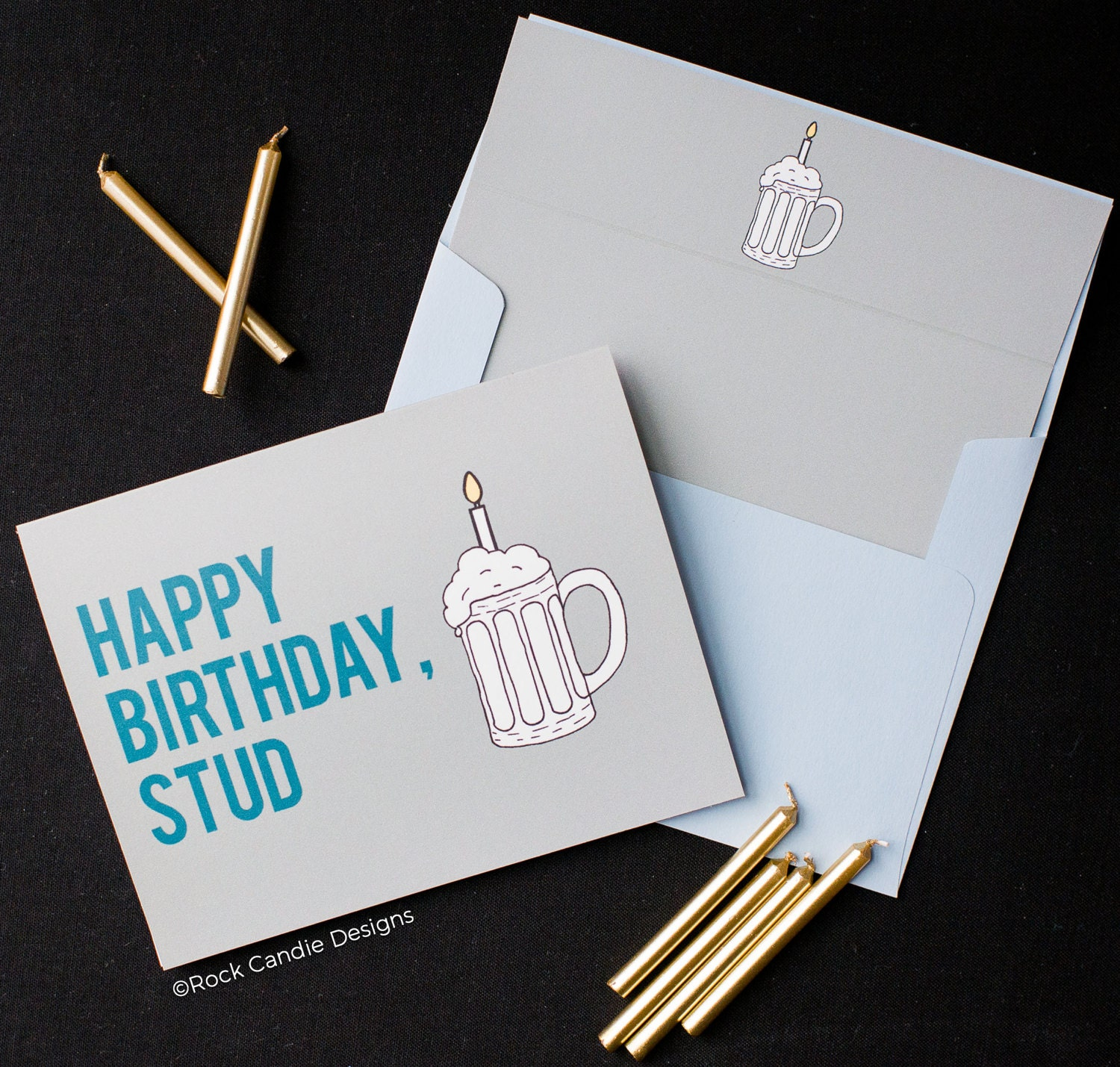 Funny Birthday Card Boyfriend Happy Birthday Stud Birthday