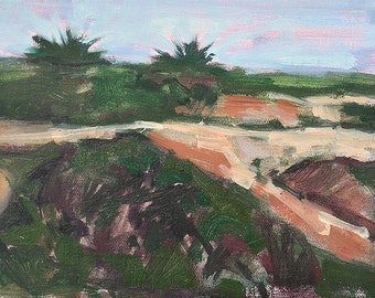 Sunset Cliffs, San Diego Landscape Painting