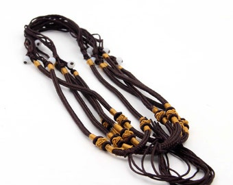 5Pieces Silk Necklace Cord--Length In 560mm  ja667