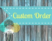 """Custom Order for Amy S. (Custom Jewelry Charms (11/16"""")"""