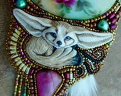 Fox in the Garden Necklace