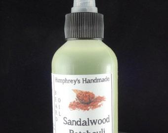 SANDALWOOD PATCHOULI Beard Oil, Cologne Oil, Medium 2 oz Scented Beard Conditioner, Natural Beard Oil, Apricot Kernel Oil, Avocado Oil