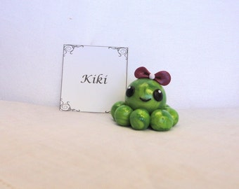 Clay Octopus-Kiki the Polymer Clay Octo Buddy