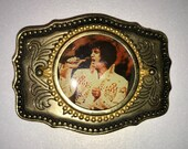 Elvis Belt Buckle