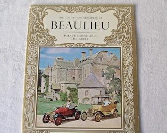 Vintage Beaulieu Palace House and Abbey Tour Souvenir Booklet  1964  England