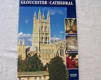 Vintage Gloucester Cathedral Souvenir Booklet Pitkin Pictorials England Travel Guide 1990s