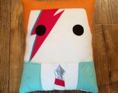 David Bowie, Ziggy Stardust, pillow, plush, cushion