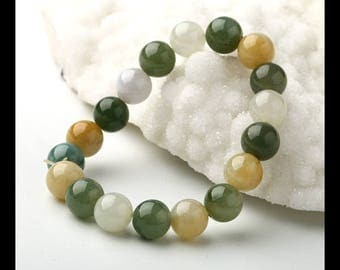 Jade  Loose Beads,1 Strand,9cm In The Lenght,10x10mm,29.5g(c0151)